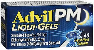 ADVIL PM LIQGEL 40