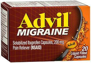 ADVIL MIGRAINE LIQGEL 200MG 20