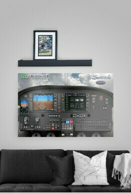 Glass Seminole G1000 Poster