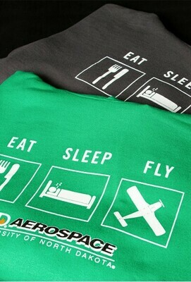 Eat Sleep Fly Sweatshirt
