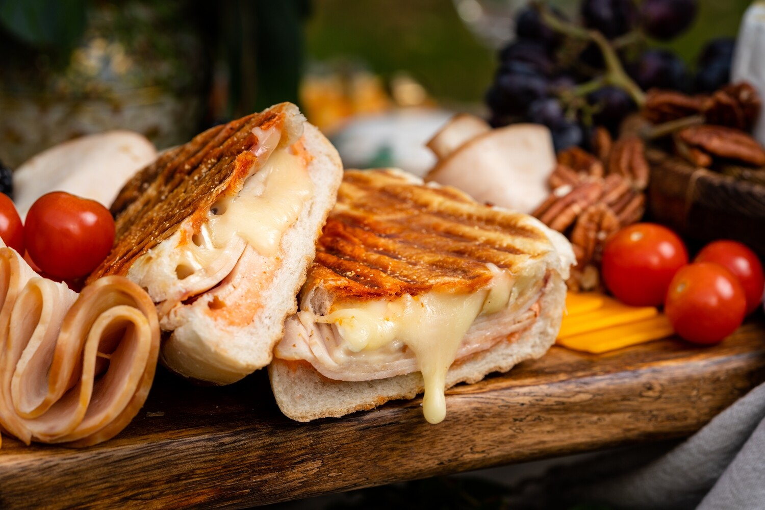 Swiss Turkey Melt Panini