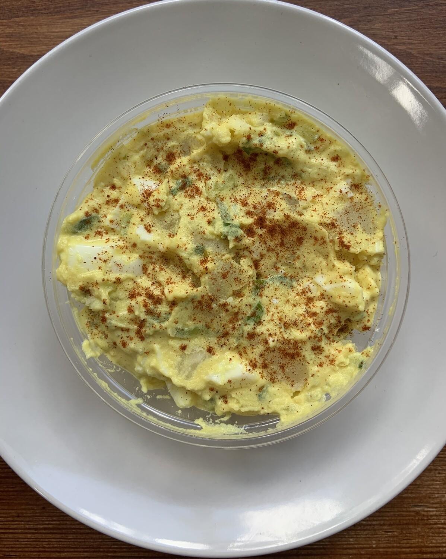 Devil Egg Potato Salad