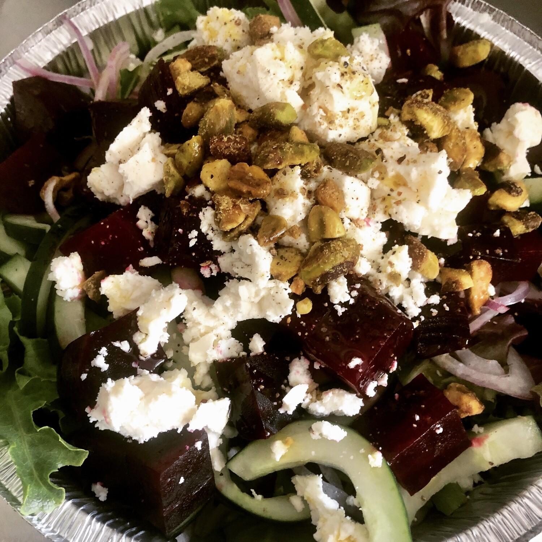 Roasted Beet & Feta Salad w/ Pepitas