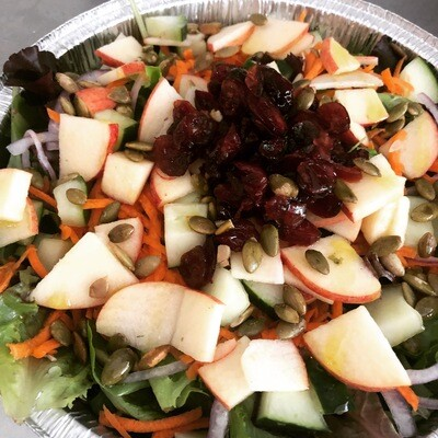 Local Apple and Cranberry Salad w/ pepitas