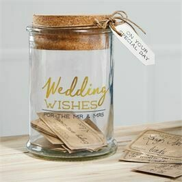 Mud Pie Wedding Wish Jar