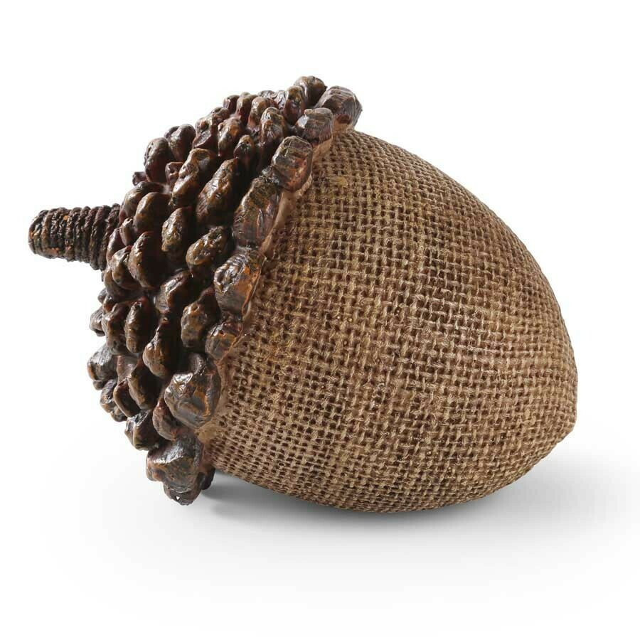 "4.5"" Acorn with Pinecone Top"