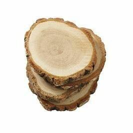 MP Wood Slice Coaster Set