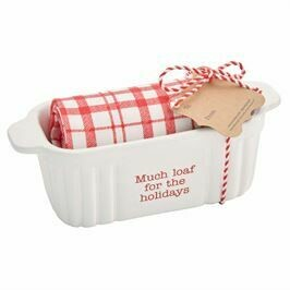 Holiday Mini Baker and Towel Set