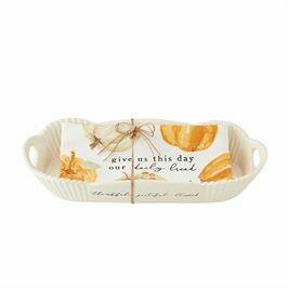 Pumpkin Bread Bowl & Towel Set