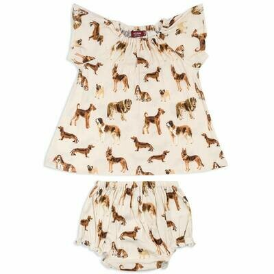 Milk Barn Dress & Bloomer