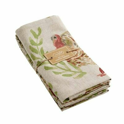 Watercolor Turkey Napkins set of 4
