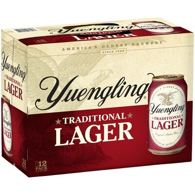 Yuengling Traditional Lager 12 Pack Cans