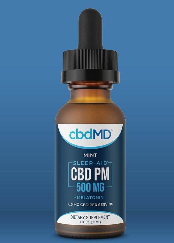 CBD Sleep Aid Drops