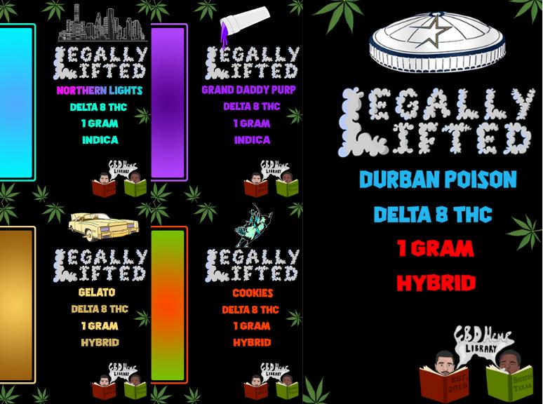Delta 8 Vape Carts - Legally Lifted