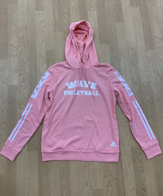 Adidas Women's Pink Hoodie