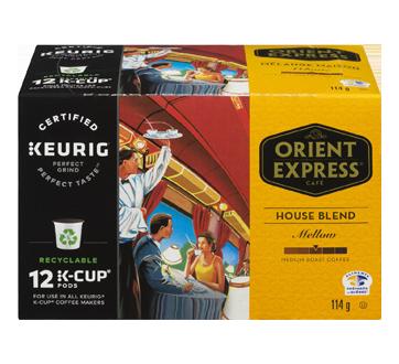 Keurig K-Cup House Blend Coffee, Medium Roast, 114