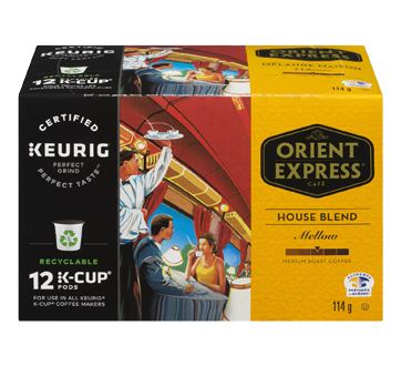 Keurig K-Cup House Blend Coffee, Medium Roast, 114