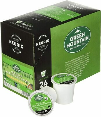 Green Mountain Coffee Our Blend, Fair Trade, Light Roast Coffee, 24 Count