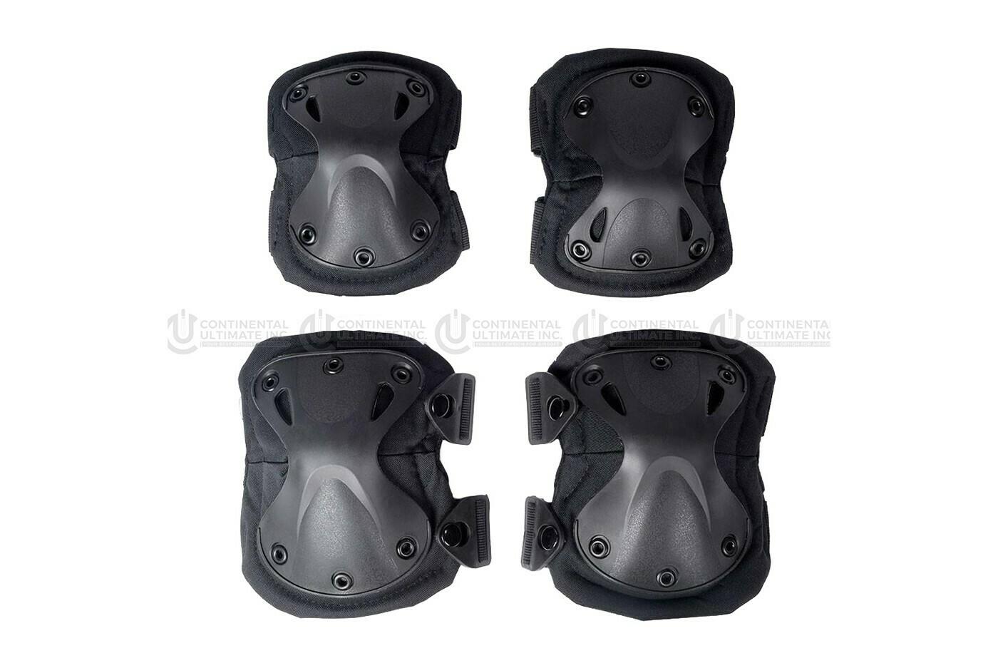 KROUSIS Tactical Knee & Elbow Pad Set