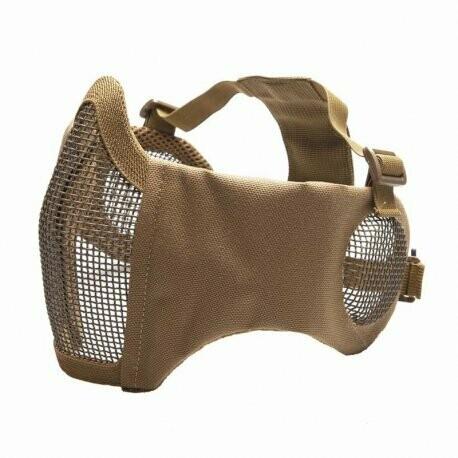 ASG Metal Mesh Half-Mask - Tan