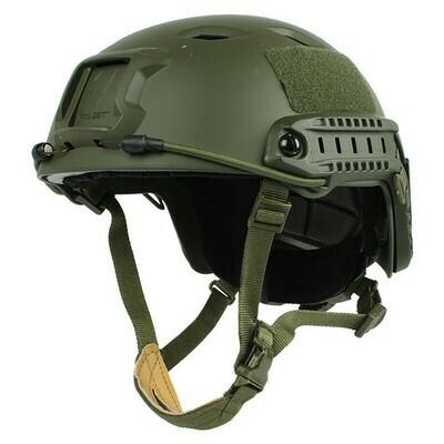 FAST Base Jump Tactical Helmet - Olive