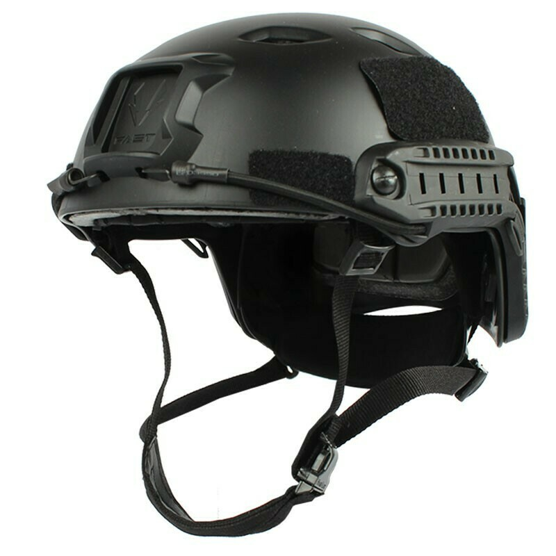 FAST Base Jump Tactical Helmet - Black