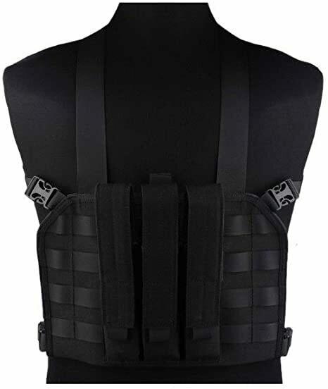 Emerson Gear em7445 MP7 Tactical Chest Rig Black