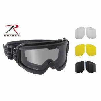 Rothco ANSI Ballistic OTG (Over The Glasses) Goggle System