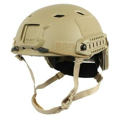 FAST Base Jump Tactical Helmet - Tan