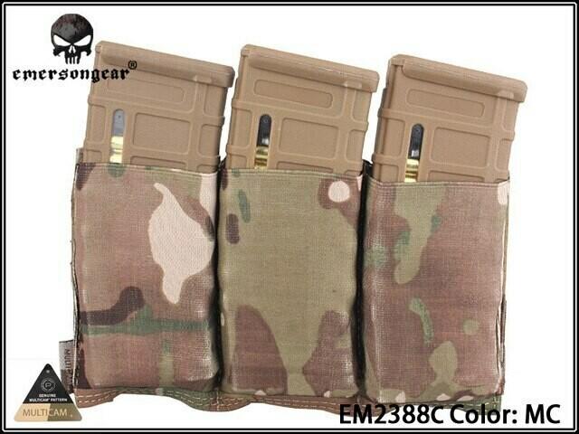 Emerson Gear M4 Triple Magazine Pouch