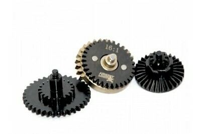 Airsoft Logic One Piece Hardened Steel CNC Gear Set - 16:1