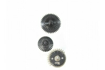 Airsoft Logic One Piece Hardened Steel CNC Gear Set - 18:1