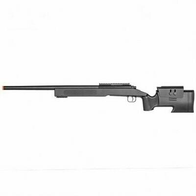 M62 Bolt Action Sniper Airsoft Gun Black