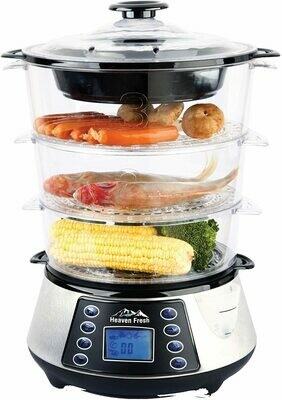 NaturePure Digital Food Steamer