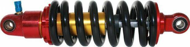 Shock - 260mm, 12mm Spring, Adjustable, Air, Aluminum SHK7000