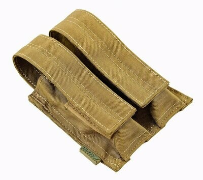 SHE-23030 Griptac Double Pistol Mag Pouch by SHS