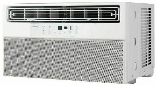 Danby 8,000 BTU Window Air Conditioner with Silencer Technology DAC080BHUWDB