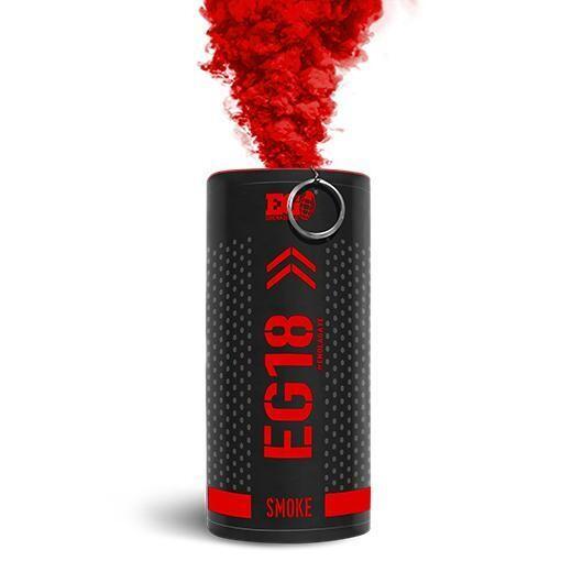 Enola Gaye EG18 High Output Smoke Grenade - Red