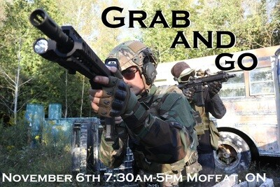 """Operation: """"Grab and Go"""" - November 6th, 2021 Moffat, ON"""