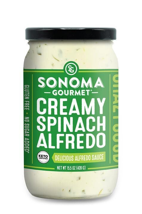 Creamy Spinach Alfredo Sauce