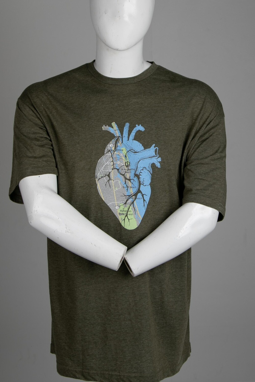 Pit Surf Shop Heart Short Sleeve Tee Shirt