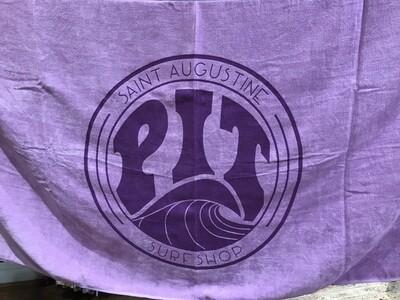 Pit Surf Shop Beach Towel