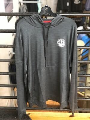 Pit Surf Shop Men Helm UV Hooded Long Sleeve Shirt