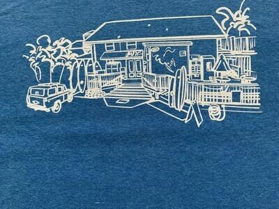 Pit Surf Shop Sketch T-Shirt
