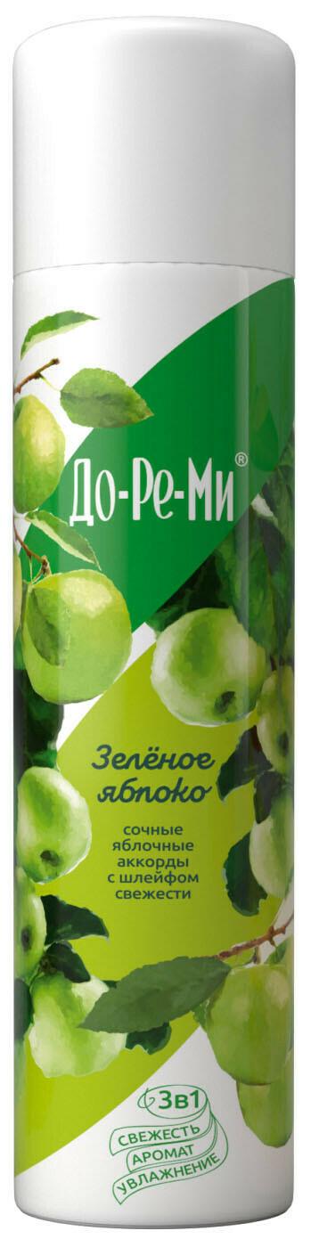 Освежитель воздуха До-ре-ми АКВА Плюс Зеленое яблоко 300мл