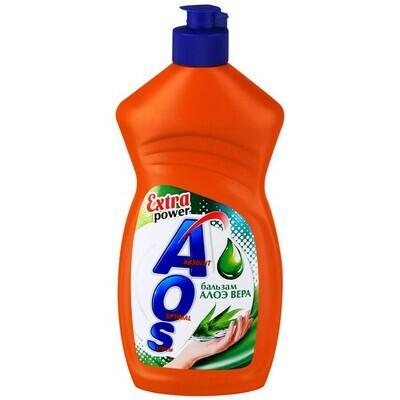 Средство для мытья посуды АОS 460-500гр