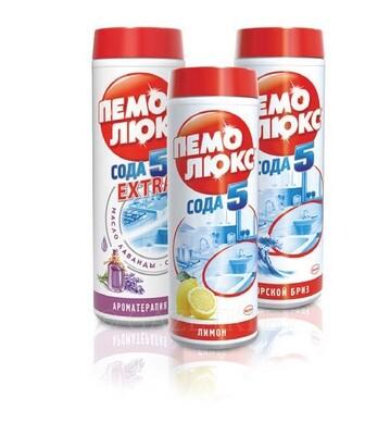 Чистящее средство Пемолюкс 480г в ассортименте