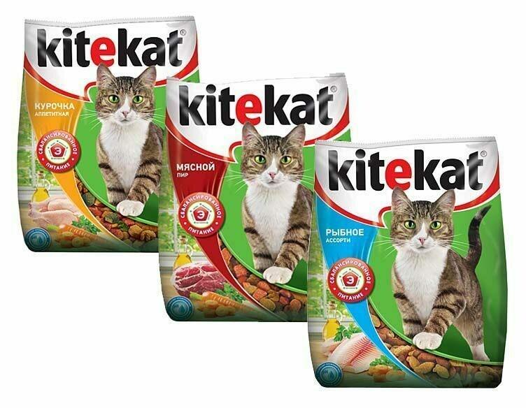 Корм для кошек Kitekat 350г