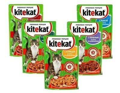Корм для кошек Kitekat 85г