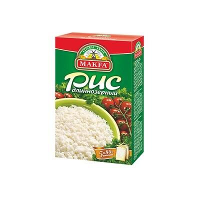 Крупа Макфа 80г*5 рис длиннозерный